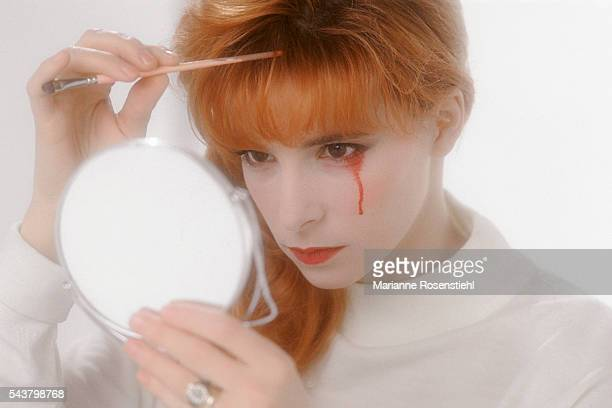French singer Mylene Farmer