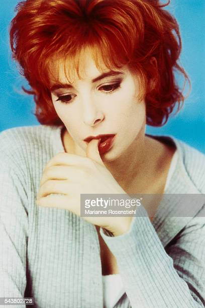 French singer Mylène Farmer