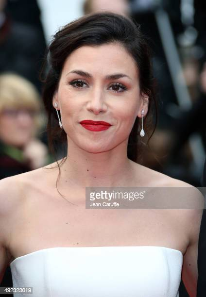 French singer Olivia Ruiz attends the 'Foxcatcher' Premiere at the 67th Annual Cannes Film Festival on May 19 2014 in Cannes France