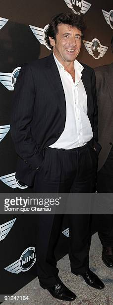 French singer Patrick Bruel attends the Mini Austin 50th Anniversary party at Piscine Molitor on September 29 2009 in Paris France