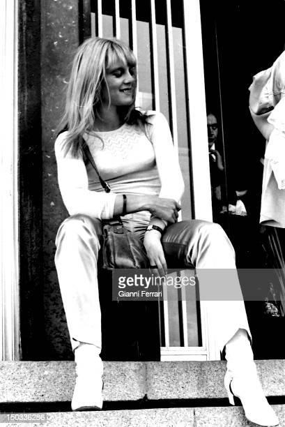 French singer Sylvie Vartan in the Spanish TV program 'Gran Parada' 14th Septembe 1968 Madrid Spain