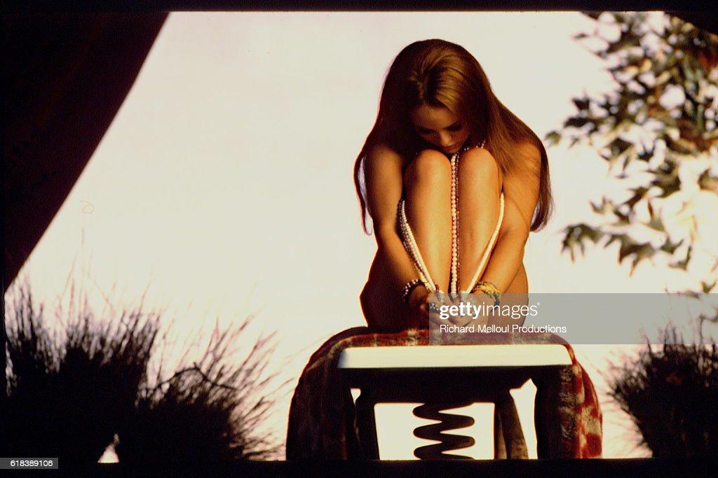 French Singer Vanessa Paradis : Photo d'actualité