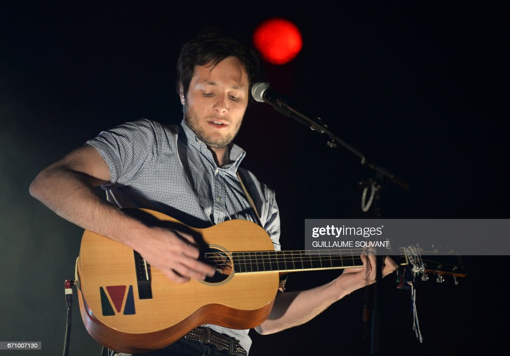 French singer vianney bureau aka vianney performs on stage during