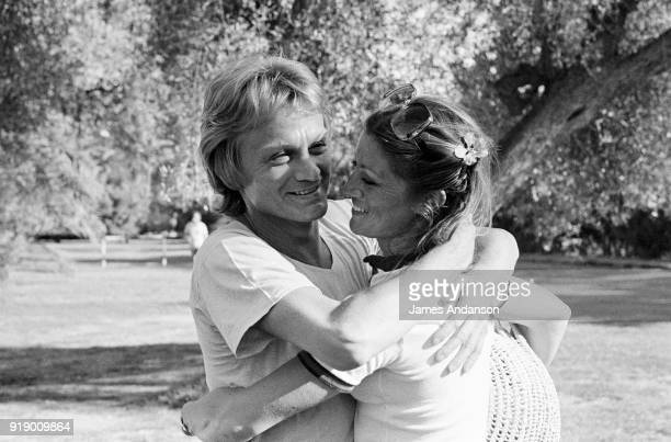 French singers Claude François and Sheila in Morocco 1st May 1977