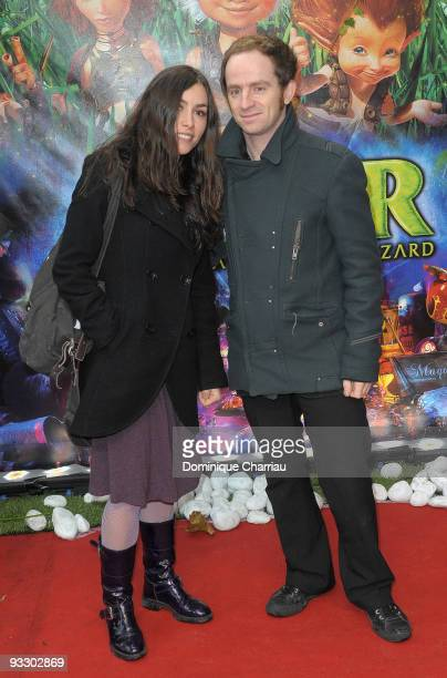 French singers Olivia Ruiz and Mathias Malzieu attend the Paris premiere of Arthur and the Revenge of Maltazard at Cinema Gaumont Marignan on...
