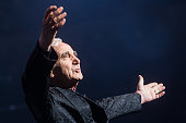 French singersongwriter charles aznavour performs on stage at royal picture id185882822?s=170x170