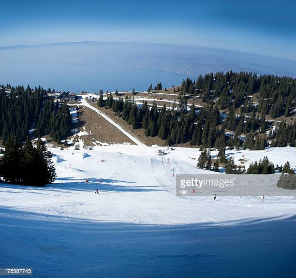 French Ski Resort of Thollon les Mémises