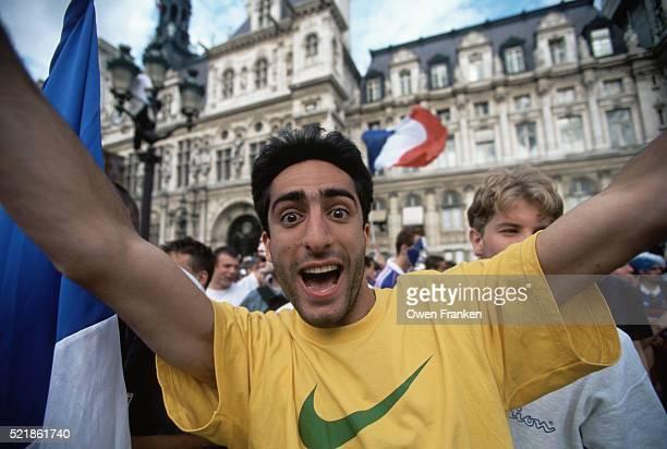 French Soccer Fan