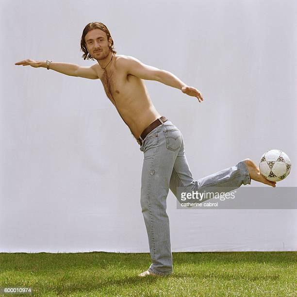 French Soccer Player Christophe Dugarry