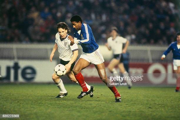 French soccer player Jose Toure in action during a friendly game France vs England France won 20