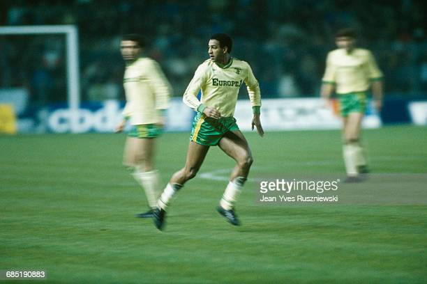 French soccer player Jose Toure in action with FC Nantes