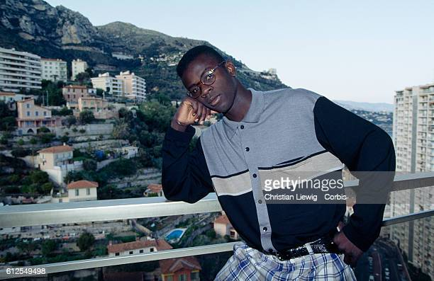 French soccer player Lilian Thuram from AS Monaco