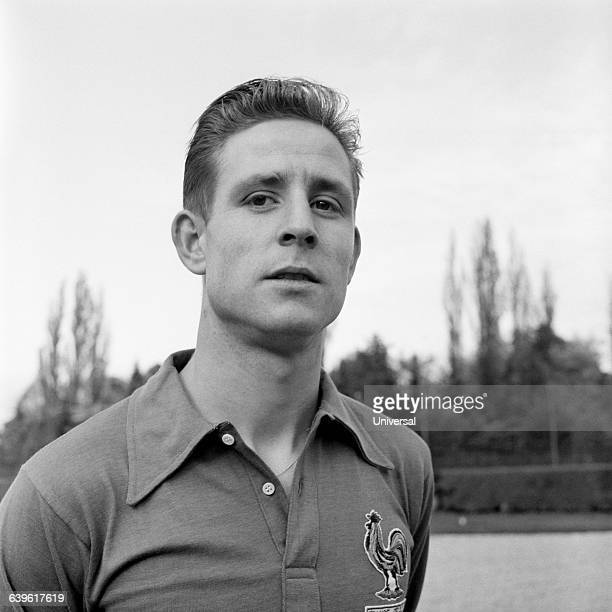 French soccer player Raymond Kopa.