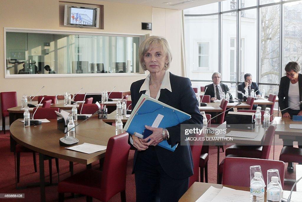 FRANCE-EU-PARLIAMENT-ECONOMY-FINANCE-MOSCOVICI : News Photo