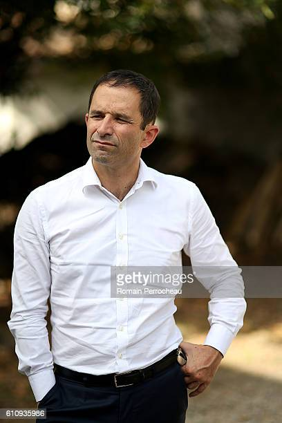 French Socialist Party member and candidate for the presidential elections 2017 Benoit Hamon of the French dissident Socialist MPs known as 'Les...
