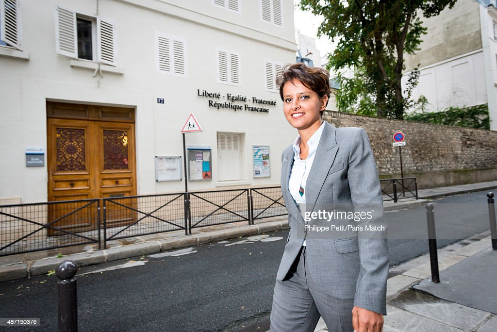 Najat Vallaud Belkacem, Paris Match Issue 3459, September 9, 2015