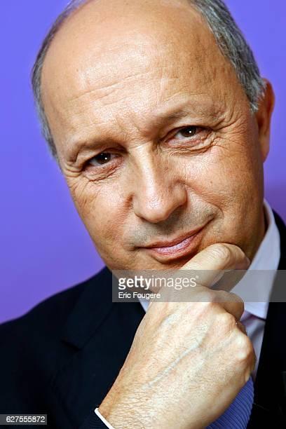 French Socialist politician Laurent Fabius