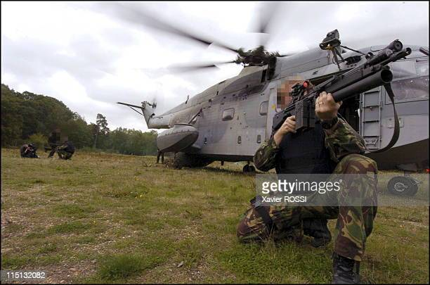 French special forces in France in 2004 A hostage crisis exercise