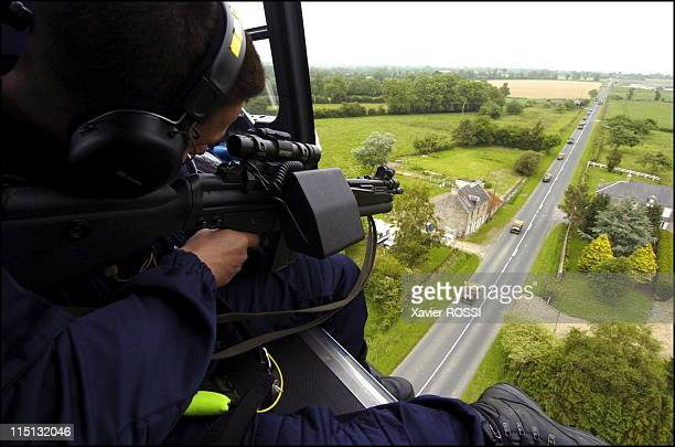 French special forces in France in 2004 Exercise in Normandy before the celebrations marking the 60th anniversary of the DDay Allied Landing Snipers...