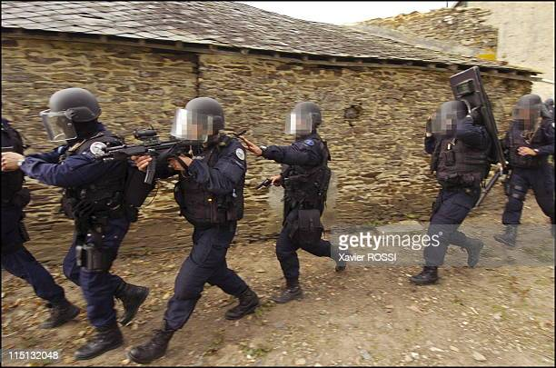 French special forces in France in 2004 Exercise in Normandy before the celebrations marking the 60th anniversary of the DDay Allied Landing