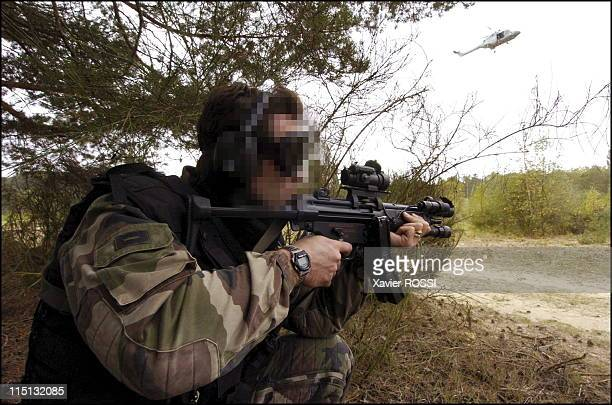 French special forces in France in 2004