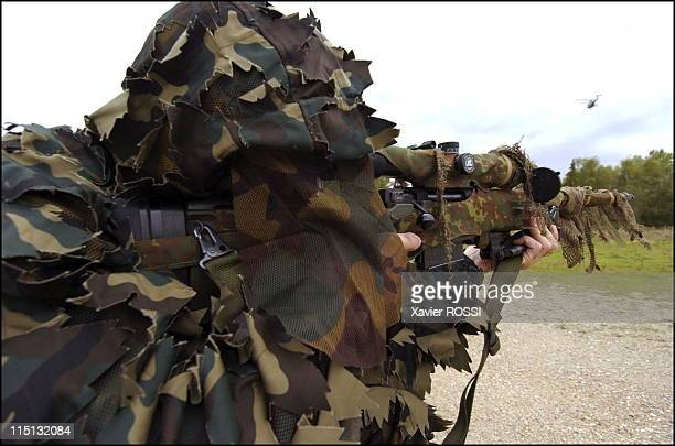 French special forces in France in 2004 Snipers