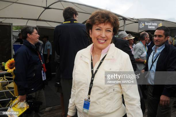 French Sports minister Roselyne Bachelot Narquin.