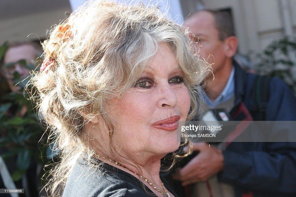 French star Brigitte Bardot at the 20th anniversary of her foundation in Paris, France on September 28th, 2006. : News Photo