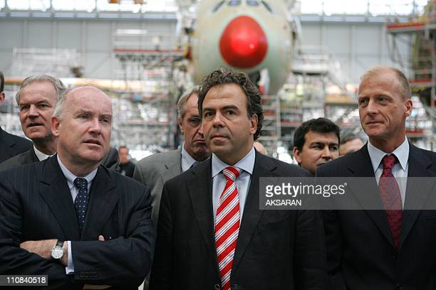 French State Secretaries Announces Invest Fund 'Aerofund Ii' For The French Flight Industry In Toulouse France On July 22 2008 State secretary in...