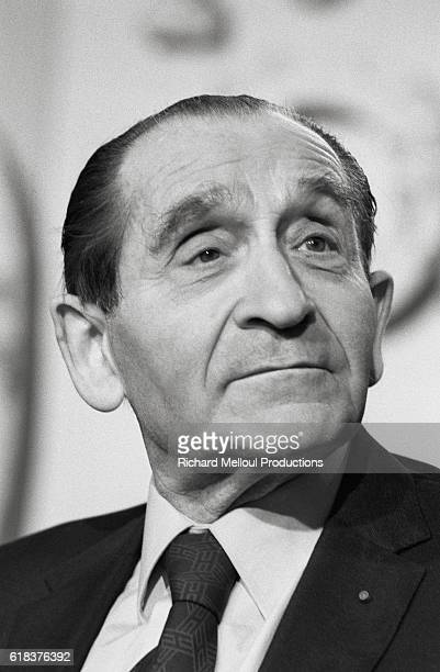French statesman Pierre MendesFrance appears on the French TV show Apostrophes MendesFrance was the Prime Minister of France from 1955 through 1956...