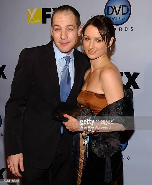 French Stewart and wife Katharine LaNasa during The 3rd Annual DVD Exclusive Awards at The Wiltern Theater LG in Los Angeles California United States