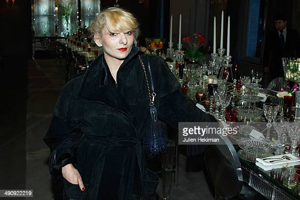 21c806142 French stylist Catherine Baba attends the  Fantasia N 1   Bal at Maison  Baccarat on