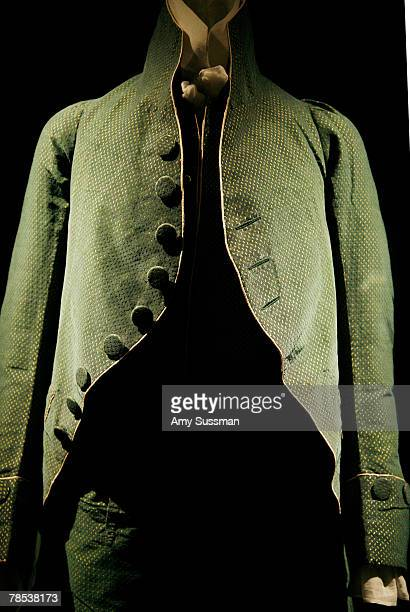 French suit 181012 is displayed at the Blogmode addressing fashion exhibit at the Metropolitan Museum of Art's Costume Institute on December 17 2007...