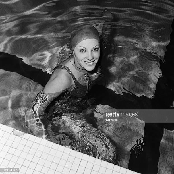 French swimmer Christine Kiki Caron