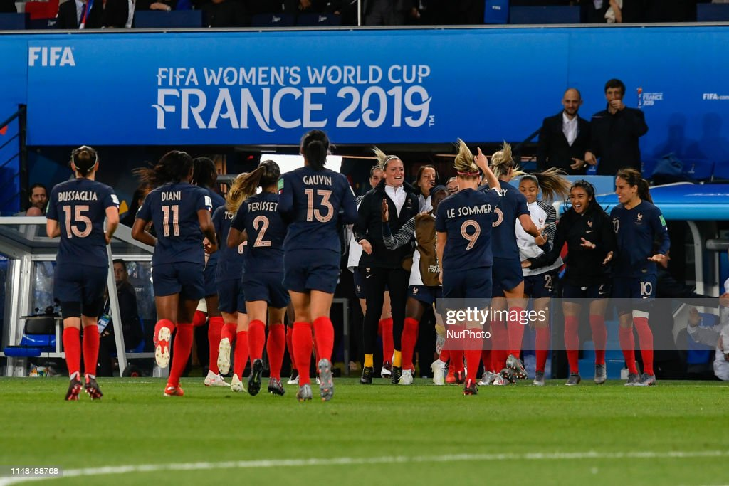 France v Korea Republic: Group A - 2019 FIFA Women's World Cup France : News Photo