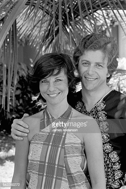 French television host Denise Fabre and her husband renowned chef Francis Vandenhende on honeymoon in Guadeloupe