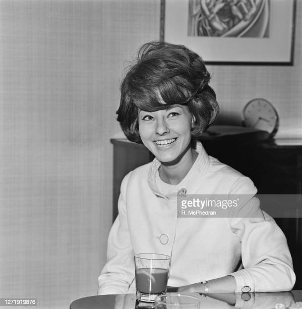 French television presenter Denise Fabre the new announcer for Granada TV in London UK 23rd August 1965