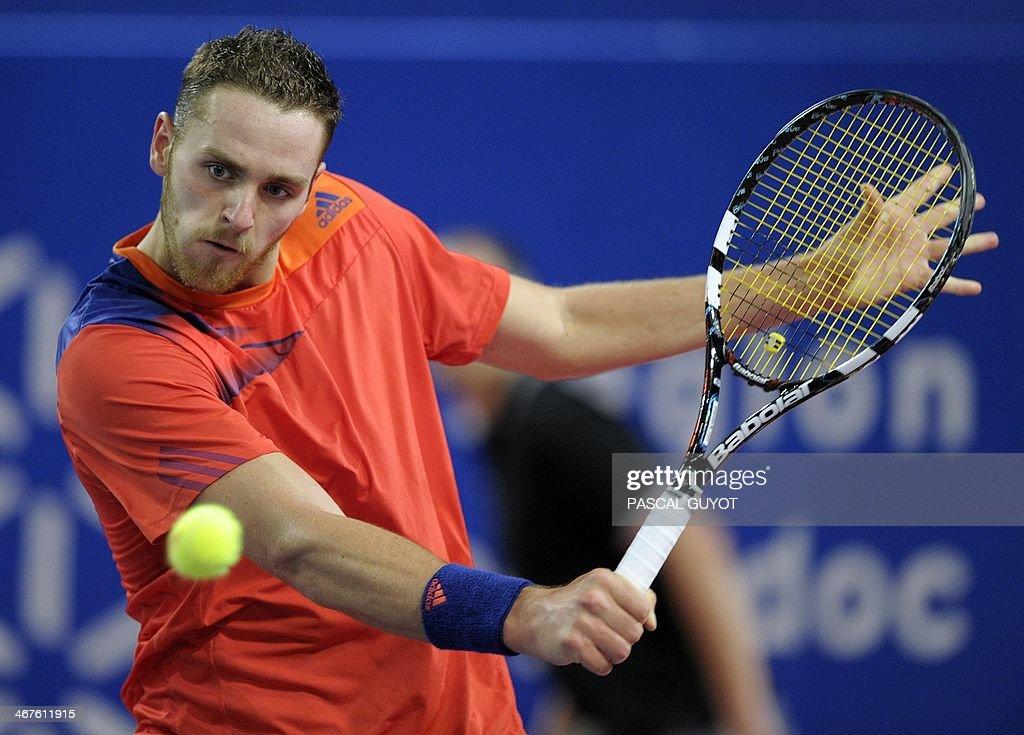 TENNIS-FRA-ATP-MONTPELLIER : News Photo