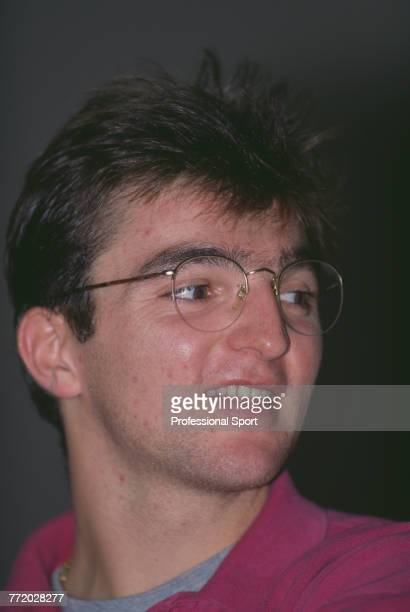 French tennis player Guillaume Raoux pictured during competition in the Diet Pepsi Challenge tennis tournament in Birmingham England in November 1991