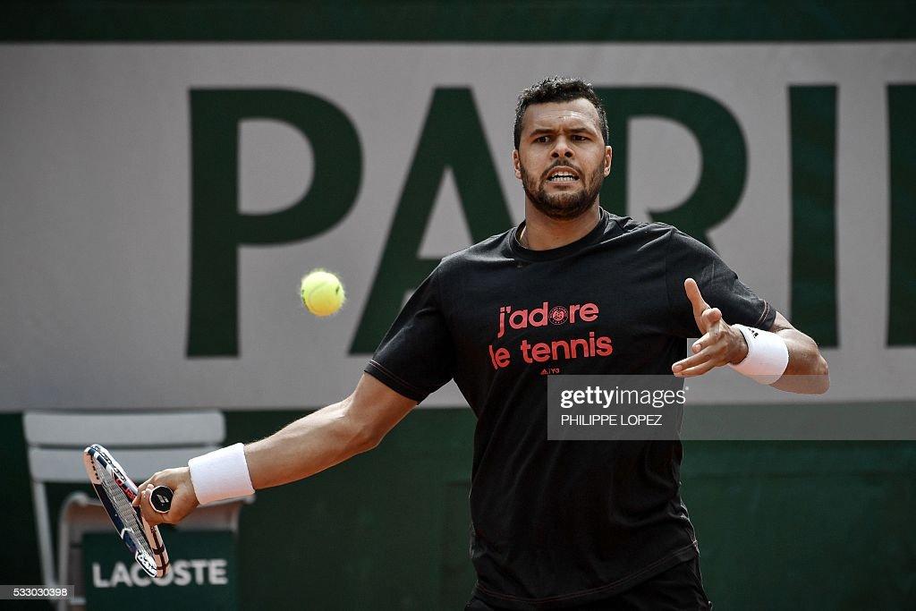 TENNIS-FRA-ROLAND-GARROS : News Photo
