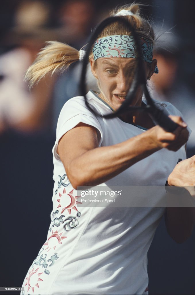 Mary Pierce At 1994 US Open : ニュース写真