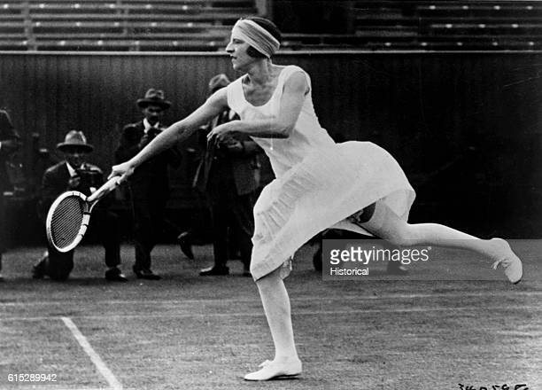 French tennis player Suzanne Lenglen won several titles in three separate Wimbledon events: women's singles and doubles, and mixed doubles. She won a...