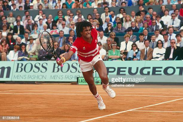 French Tennis Player Yannick Noah