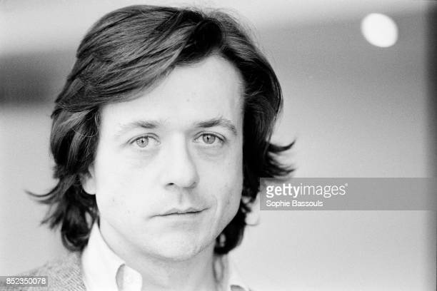 French theater and film director screenwriter and actor Patrice Chereau at the Theatre des Amandiers in Nanterre which he is the director