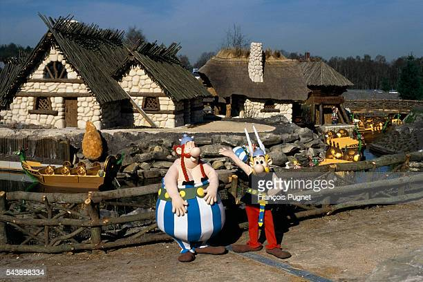 French theme park Asterix is an amusement complex modeled after the beloved comic strip Asterix et Obelix
