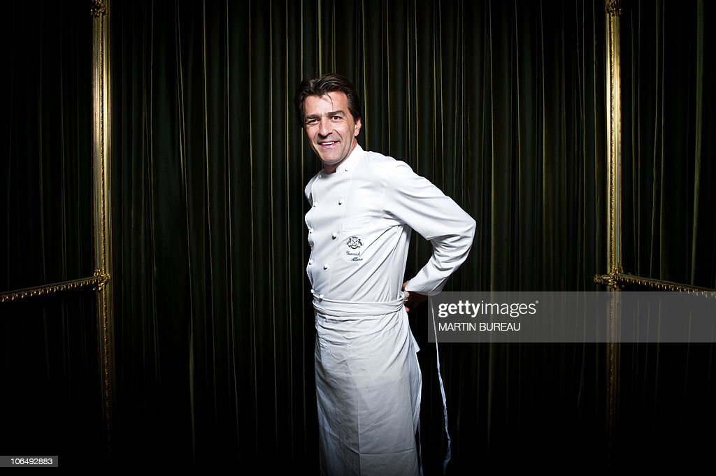 French three star chef of le meurice restaurant yannick alleno