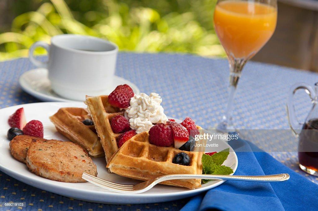 French Toast Breakfast : Stock Photo