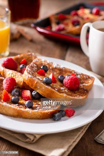 french toast - vertical stock pictures, royalty-free photos & images