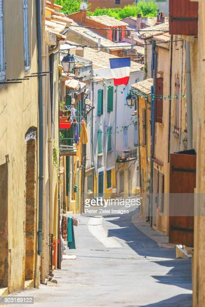 french town in provence - ヴァレンソール高原 ストックフォトと画像