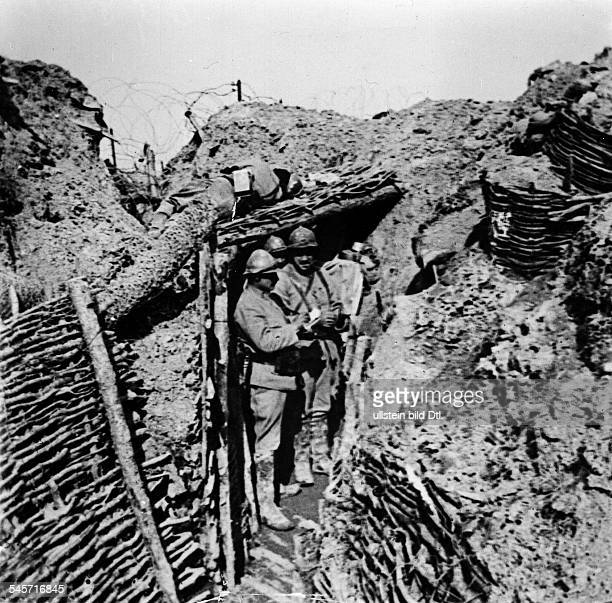 French trench at Verdun summer 1916